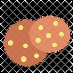 Cookies Flat Icon