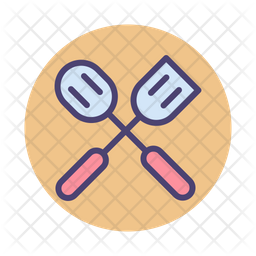 Cooking Colored Outline Icon