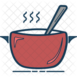 Cooking Pan Icon Of Colored Outline Style Available In Svg Png Eps Ai Icon Fonts