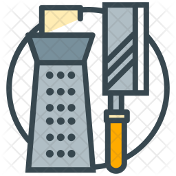 Cooking utensil Colored Outline Icon
