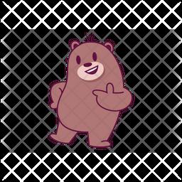Cool Bear Icon