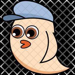 Cool Bird Icon