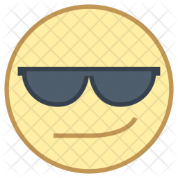 Cool face Icon