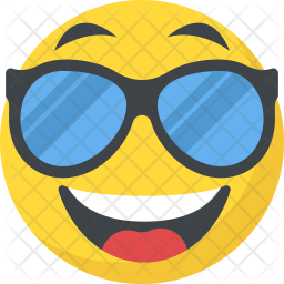 Cool Smiley Icon