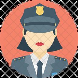 Cop Color Icon