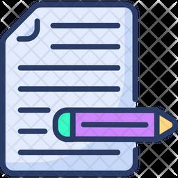 Copyrighting Icon