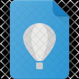 Coreldraw file Flat Icon