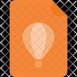 Coreldraw file Icon