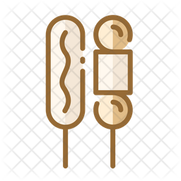 Corn Dog Icon