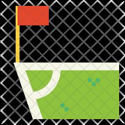 Corner Flags Icon