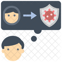Corona Protection Icon
