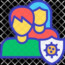 Corona Security Icon