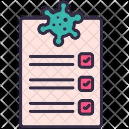Coronavirus Report Icon