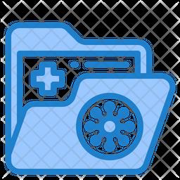 Coronavirus Report Folder Icon