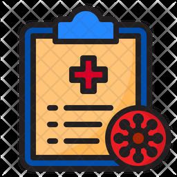 Coronvirus Report Icon