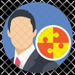 Corporate Businessman Icon