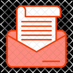 Correspondence email Icon