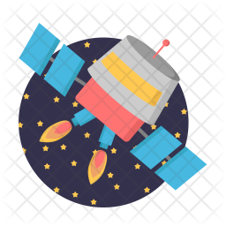 Cosmonaut shuttle Icon