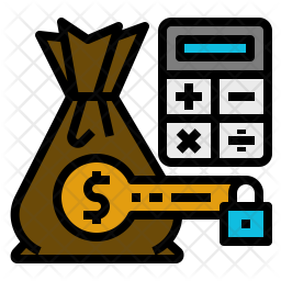 Cost Control Icon Of Colored Outline Style Available In Svg Png Eps Ai Icon Fonts