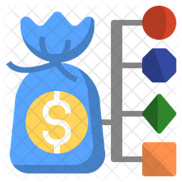 cost structure icon of flat style available in svg png eps ai icon fonts cost structure icon