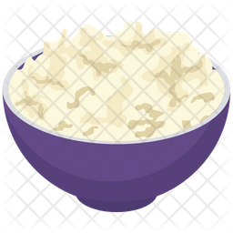 Cottage Cheese Bowl Icon