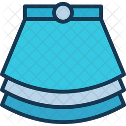 Cotton pleated skirt Icon