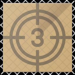 Countdown Flat Icon