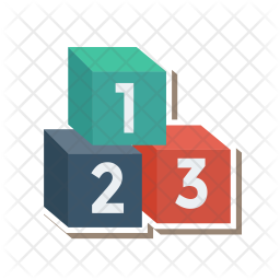 Counting Flat Icon