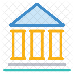 Court Colored Outline Icon