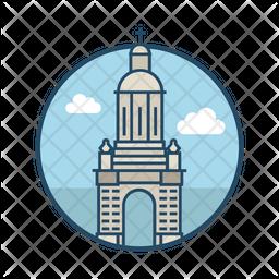 Courtyard Trinity College Icon