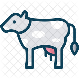 Cow Icon Of Colored Outline Style Available In Svg Png Eps Ai Icon Fonts