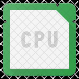 Cpu Microchip Icon