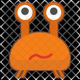 Crab Emoji Icon