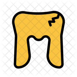 Crack Tooth Icon