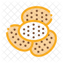 Cracker Colored Outline Icon