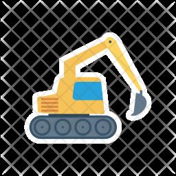 Crane Flat Icon