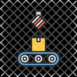 Crane Factory Icon