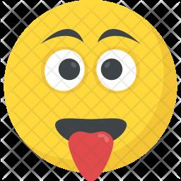 Crazy Face Icon