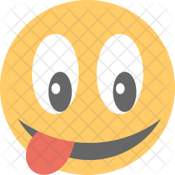 Crazy Face Icon Of Flat Style Available In Svg Png Eps Ai Icon Fonts