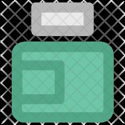 Cream Colored Outline Icon
