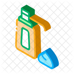 Cream Bottle Icon