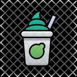 Cream Drink Icon