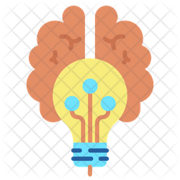 Creative Brain Icon Of Flat Style Available In Svg Png Eps Ai Icon Fonts