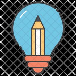 Creative Design Colored Outline Icon
