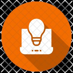 Creative Development Glyph Icon
