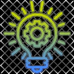 Creative Idea Gradient Icon