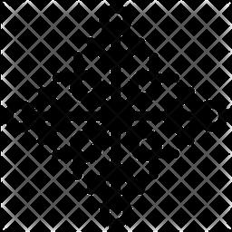 Creative Snowflake Icon