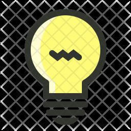 Creativity Colored Outline Icon