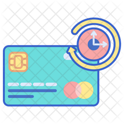 Credit Card Installment Icon