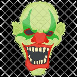 Creepy Clown Icon